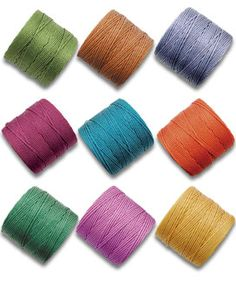 Micro macrame S-Lon cord - colorfast 18 gauge nylon cord.  50 colors