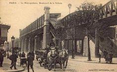 Paris 19: cartes postales des années 1900