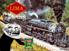 The one that started it all... a friend of mine committed this atrocity, so I started making posters of my own in retaliation... Only train people will get this.