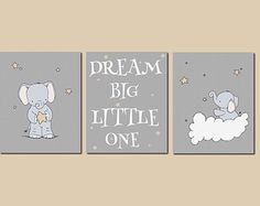 Dream big little one  #nursery #baby