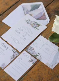 Featured Photographer: Vitalic Photo; Wedding invitation idea.