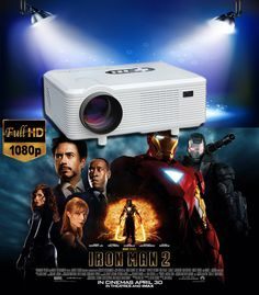 Main Features:With analog TV interface lumen with contrast ratio for clear ,sharp x HDMI input ports and 2 x USB ports: Presentatio Lcd Projector, Digital Tv, Hd 1080p, Cinema, Iron Man, Led, The Originals, Projectors, Buy Cheap