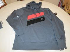 Hurley hoodie hoody shirt long sleeve Men's L large MFT0004010 Icon Splash DGR #Hurley #hoodiejacketshirt