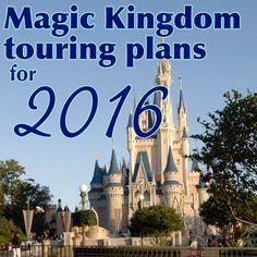 Magic Kingdom touring plans for 2016