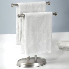 Standing hand towel rack Stand Alone Umbra Free Standing Palm Double Hand Towel Rack Modern Bathroom Accessories Bath Accessories Towel Pinterest 185 Best Master Bathroom Images Bathroom Master Bathroom Master