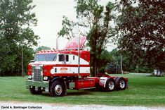 Old Semi Truck | ... camby indiana the truck was originally restored as a working truck but