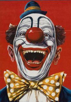 Bozo the Clown Character   Even famous clowns are creepy. Remember Bozo?