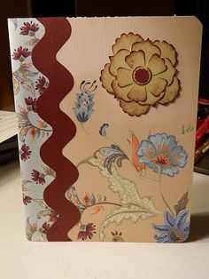 Altered composition book that I made in 16 minutes