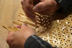 Bamboo Artist Chifuyu Enomoto Kanazawa, Japan (Click through to read more)