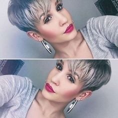 Short Hairstyle Grey 2016 - 1