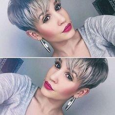 Short Hairstyle Grey 2016 - 1