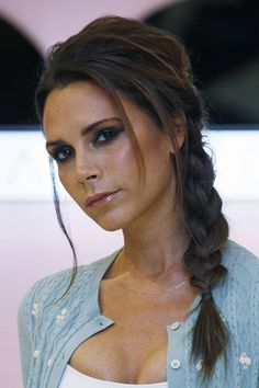Victoria Beckham hair. I think she is gorgeous