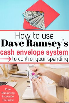 Cash Envelope System (The Ultimate Guide To Budgeting) Get started with the cash envelope system today! I'm such a huge Dave Ramsey fan cant wait to try out the envelope budget system. I can't wait to grab my own free printables and start budgeting. Ways To Save Money, Money Tips, Money Saving Tips, Envelope Budget System, Cash Envelope System, Budget Envelopes, Cash Envelopes, Budgeting Finances, Budgeting Tips