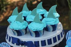 Shark Theme Kid's Party Ideas! {Real Party} SHARKS! on http://frogprincepaperie.com