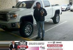 Congratulations to Hiram Lopez on your #GMC #Sierra 1500 purchase from Larry Beamer at McKinney Buick GMC! #NewCar