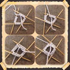 """Tämä vinkki kannattaa ottaa käyttöön suljetun neuleen opetuksessa. Vaihdetaan ensimmäisen ja viimeisen silmukan paikkaa, niin saadaan aloitus """"lukittua"""" ja siitä on oppilaan helpompi jatkaa harjoittelua. Knitting Stitches, Knitting Socks, Knitting Patterns Free, Free Knitting, Baby Knitting, Stitch Patterns, Knitted Hats, Crochet Slippers, Knit Crochet"""