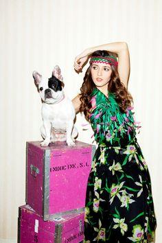 Pepa, a stylin' #frenchbulldog.