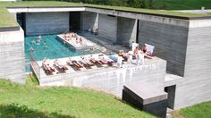 Thermalbad, Vals CH, Peter Zumthor