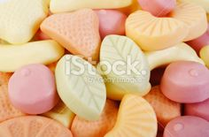 Yogurt gummy Royalty Free Stock Photo