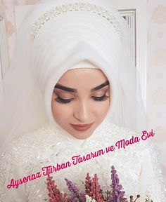 You can find different rumors about the history of the wedding dress; Muslim Wedding Gown, Hijabi Wedding, Muslim Wedding Dresses, Wedding Girl, Muslim Brides, Muslim Dress, Hijab Dress, White Wedding Dresses, Wedding Looks