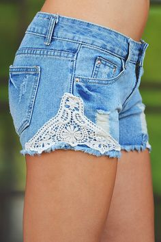 Together We Have It All Denim Shorts from Closet Candy Boutique