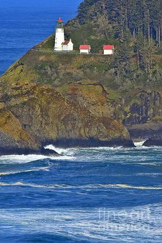 Heceta Head Lighthouse ~ North of Florence OR on Hwy. 101