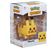 From the popular Nintendo Switch game, Pokemon Quest, comes this Pikachu vinyl figure. Includes 1 figure 10 cm tall age 4 to collect Pokemon Snorlax, Popular Pokemon, Nintendo Switch Games, Electronic Toys, Outdoor Toys, Smileys, Character Names, Saved Items, I Am Game