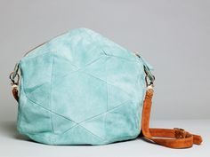 Love the blue color and star detail on this bag! #giftideas