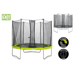 EXIT TWIST trampoline   filet Ø 305 cm (10ft)