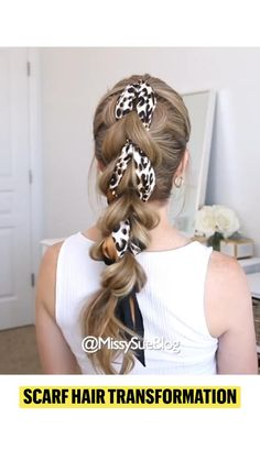Quick Hairstyles, Scarf Hairstyles, Wedding Hairstyles, Long Hair Wedding Styles, Long Hair Styles, Head Scarf Styles, Hair Color Techniques, Sassy Hair, Hair Transformation
