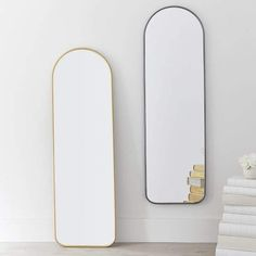 Our Metal Framed Full-Length Mirror is a must-have to check out your top-to-bottom style anywhere in your room. Its metal-framed edges give your space a vintage feel. Full Length Mirror In Bedroom, Full Length Mirrors, Small Closets, A Frame Cabin, Luxury Rooms, Home Decor Bedroom, Master Bedroom, Girls Bedroom, Bedroom Ideas