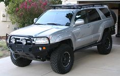African Outback Rack for Gen - Page 2 - Toyota 120 Platforms Forum Overland 4runner, 2003 Toyota 4runner, Toyota 4x4, Toyota Trucks, Toyota Cars, Toyota Tacoma, Toyota Hilux, 4runner Off Road, 4th Gen 4runner