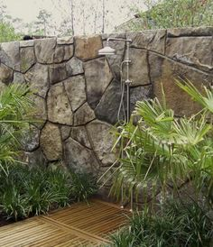1000 images about outdoor showers on pinterest outdoor for Outdoor rock shower