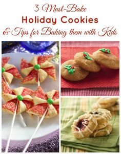 3 Must-Bake Holiday Cookies and Tips for Baking Them With Kids
