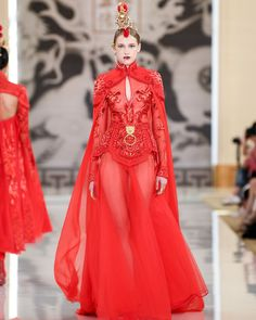 HEAVEN GAIA Ready-to-wear SS20 collection - DNMAG Fashion Professionals Paris Fashion, Runway Fashion, High Fashion, Fashion Show, Fashion Design, Couture Collection, Summer Collection, Fantasy Dress, Nice Dresses