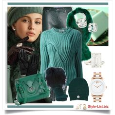 #Emerald #Dream #Outfit by http://style-list.biz  Join us on Facebook to get updates: https://www.facebook.com/stylelist.biz