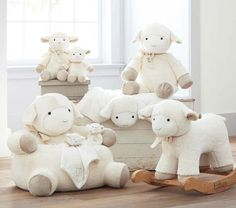 Find baby nursery ideas and inspiration at Pottery Barn Kids. Discover our gender neutral nursery ideas and themes that are perfect for any expecting mom. Sheep Nursery, Nursery Room, Girl Nursery, Girl Room, Baby Room, Baby Lamb Nursery, Baby Basinets, Bedroom, Pottery Barn Kids