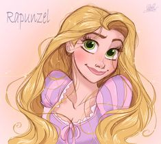 Disney's Rapunzel from Tangled by princekido.devian… on Disney's Rapunzel from Tangled by princekido. Disney Rapunzel, Disney Princess Art, Tangled Rapunzel, Princess Rapunzel, Disney Fan Art, Disney Love, Disney Magic, Deviantart Disney, Disney Sketches
