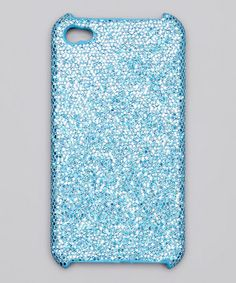 Take a look at this iCover Blue Glitter Case for iPhone 4/4S by Tech Trends: Electronic Accessories on #zulily today!