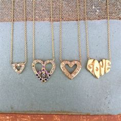 Elisa Solomon's collection is filled with hearts - perfect gifts for lovers or friends. Photo: Elisa Solomon
