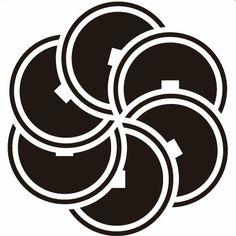 Kamon, 六つ捻じ銭紋 COIN