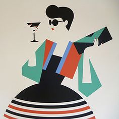 Illustration by: Malika Favre Illustration Pop Art, Inspiration Artistique, Whatsapp Wallpaper, Arte Pop, Graphic Art, Graphic Design, Illustrations Posters, Art Sketches, Vector Art