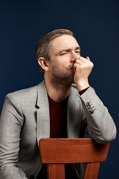 Martin Freeman. This is someone else's pin, but I, Bethany, am wondering; could Martin portray Scotty's father??