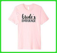 Mens Bride's Entourage T-Shirts for Bridesmaids Wedding Shirts Medium Pink - Wedding shirts (*Amazon Partner-Link)