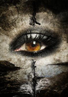 The eyes are the windows of the soul. I wonder this is why we cry often, to keep the vision of our soul clean. Beautiful Eyes, Beautiful Pictures, Amazing Eyes, Art Noir, Illustration Art Nouveau, Look Into My Eyes, Eye Art, Gothic Art, Dark Beauty