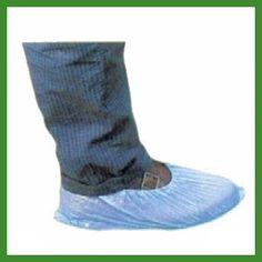 Cubrezapatos de polietileno color azul. Cubrezapatos desechables de un solo uso fabricados de polietileno de 25 g. impermeables.     Más información: http://www.tplanas.com/epis/vestuario-desechable/52-cubrezapatos-de-polietileno.html