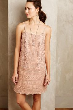 Embroidered Alma Shift - anthropologie.com
