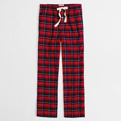 Factory plaid flannel sleep pant - Matthew's pajamas are in a bad way...