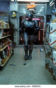 Robocop RoboCop Année 1987 usa Peter Weller Réalisateur Paul Verhoeven - Stock…