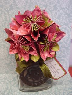 61 best stampin up paper flowers punch art images on pinterest stampin up paper flowers tina weller mightylinksfo